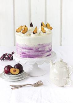 Pflaumen-Apfel-Mohn-Torte