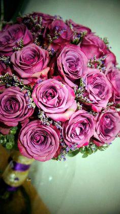 Old rose bangkok rose with misty blue