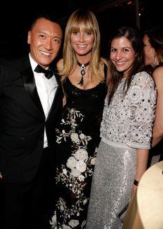 #TheTrineGroup #GoldenGlobes2014 #JoeZee #HeidiKlum #Elle #ElleMagazine