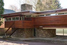 1960s Robert Harvey-designed midcentury modern property in Kenilworth, Warwickshire