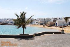 Miejscowość Caleta de Sebo na wysepce #LaGraciosa