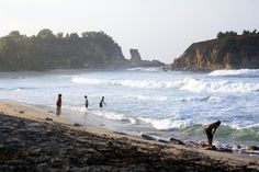 Klayar beach in Pacitan. Photo by Ambar Kusuma Ningrum