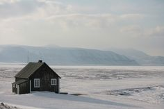 Isfjord Radio on the Svalbard Islands.