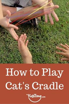 How to play cat's cradle with a loop of string or yarn Toddler Activities, Learning Activities, Kids Learning, Rainy Day Activities, Indoor Activities For Kids, Family Activities, Outdoor Activities, Family Fun Games, Games For Kids