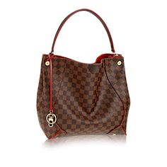 LOVE hobos and this new Louis Vuitton Caissa Hobo is a beauty!