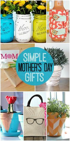 10+ Mother's Day gifts that are both simple and adorable! All ideas that mom will love! { lilluna.com }