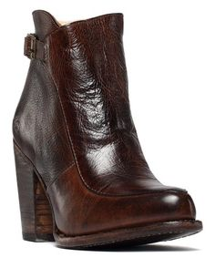 Size 8.0 Dark Cognac Adaptable Anne Klein Womens Jeannie Almond Toe Ankle Fashion Boots