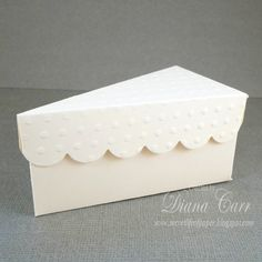 Hey, I found this really awesome Etsy listing at https://www.etsy.com/listing/151031144/ivory-wedding-favor-cake-box-paper-slice
