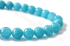 1 Strand Sky Blue Quartz Faceted Round by Margelbeads on Etsy Handmade Jewelry, Unique Jewelry, Handmade Gifts, Turquoise Bracelet, Quartz, Sky, Beads, Blue, Beading