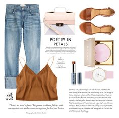 """""""jeans"""" by e-memagic ❤ liked on Polyvore featuring Current/Elliott, A.P.C., Dorothy Perkins, Stila, Vapour and Laruze"""