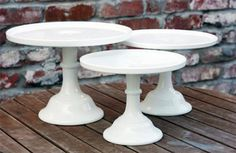 Milk Glass Cake Stand from Keep.com