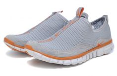 TTotir2014 Nike Free Cross-Country femmes argent gris orange, veteHommest nike pas cher