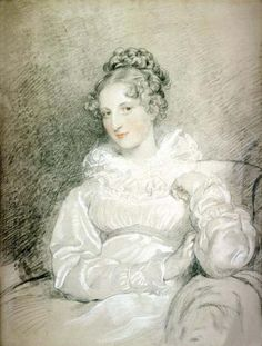 Countess Therese Czernin (1798-1896), drawn in 1819 by Thomas Lawrence
