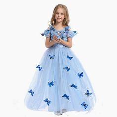 Fasnacht Fasching Karneval Mädchen Prinzessinnen Kostüm blau Gr 110 Zwillinge