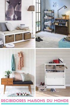 Muebles para recibidores de Maisons du Monde Decor, Furniture, Room, Decoracion, Home Decor, Entryway, Bench, Entryway Bench