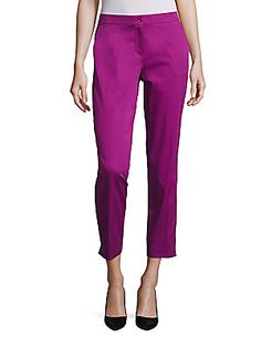 Etro Cotton Cropped Pants