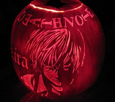 Death note more cartoon pumpkin anime awesomeness deathnote inspired