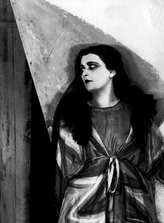 Lil Dagover in The Cabinet of Dr. Caligari.