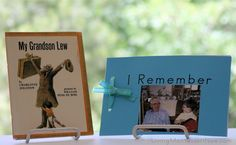 """Have you had to talk with a child about death? And have you ever read My Grandson Lew? It's an amazing book to help kids cope with the death of a loved one. I tell about the book and have free printables for families to create """"I Remember"""" (also """"I Miss You"""" and """"I Love You"""") books in this post."""