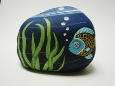Clowns fish and rocks on pinterest for Fish bowl rocks