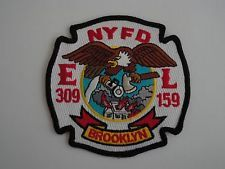 New York City Fire Department Engine 309/Ladder 159 Patch.