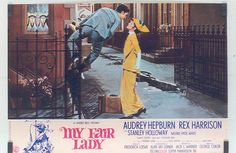 my fair lady - audrey hepburn - rex harrison - 1964 - poster by sonobugiardo, via Flickr