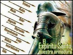 El espíritu santo es nuestra armadura