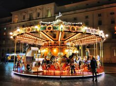 Carousel in Piazza Navona - Rome by Stefano Incollà - Photo 132678093 - 500px