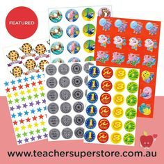 FEATURED: Merit Stickers Restock your merit sticker collection for 2021. Our range includes laser, metallic and foil stickers and are suitable for a variety of purposes. Purchase through our online store.