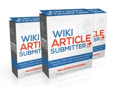 Wiki Submitter Software | Automatic Wiki Submitter | Dofollow Wiki Backlink Submitter