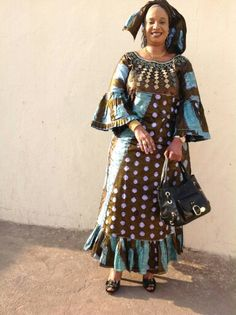 Embroidered Bazin Malian fashion African Dress Patterns, Best African Dresses, African Fashion Ankara, African Print Dresses, African Print Fashion, Africa Fashion, African Attire, African Wear, African Women