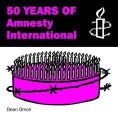 50 YEARS OF AMNESTY INTERNATIONAL (cover) by Dean Omori, via Flickr