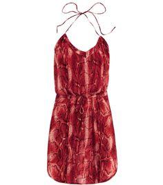 Dani snake-print dress by Vix #Matchesfashion