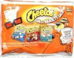 I'm learning all about Cheetos Snack Pack Variety at @Influenster!