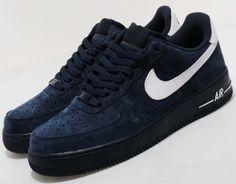 Nike Blue Suede AF1's
