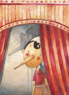 ''Pinocchio'' on Behance