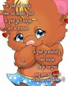 Welterusten Good Morning Good Night, Weekend Fun, Winnie The Pooh, Disney Characters, Fictional Characters, Funny, Cute, Slaap Lekker, Cartoons