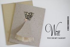 DIY, Do It Yourself, Will you be my, bridesmaid, dress, card, sew, sewing, make | CHECK OUT MORE IDEAS AT WEDDINGPINS.NET | #diyweddings