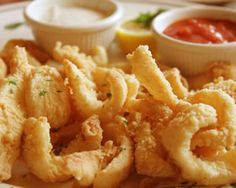 ... Calamari fried on Pinterest | Fried calamari, Calamari and Calamari