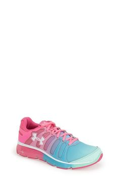 newest bed67 e60f6 Girl s Under Armour  Micro G Pulse II - Fade  Running Shoe Shoe Closet,