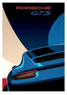 Porsche GTS Porsche Gts, Automotive Art, Classic, Instagram Posts, Vintage, Free Spirit, Porn, Game