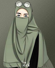 Gambar Abstrak Wanita Hijab Coba Anda Bayangkan Saat Anda Mungkin Membeli Kue Di Pasar Pashmina Instan Hijab Instan Jilbab Ins Gambar Wanita Pejuang Wanita