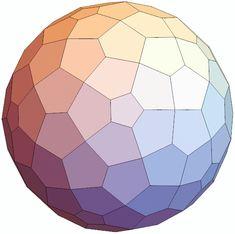 132 pentagon polyhedron