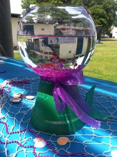 Lil Mermaid Centerpiece..