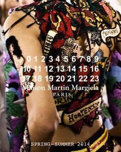 Maison Martin Margiela Artisanal SS14