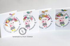 INSPIRACJE URODZINOWE- PEPPA - Mamine Skarby by Magda Jasińska Peppa Pig Invitations, Birthday Party Invitations, Birthday Parties, Cards, Handmade, Autumn, Anniversary Parties, Hand Made, Birthday Celebrations