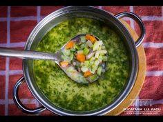 Ciorba de dovlecei. Explicatii, imagini, video. Toate la un loc. Courgette Soup Recipe, Romanian Food, Guacamole, Soup Recipes, Supe, Make It Yourself, Vegetables, Ethnic Recipes, Youtube