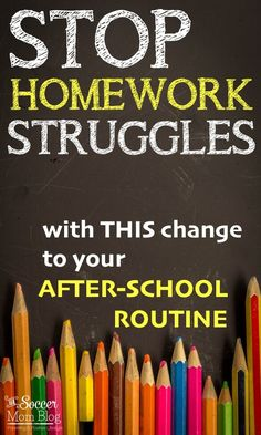"""Experts: Homework is """"Overrated"""" & Over-Assigned in Elementary School I finally figured out what should have been a no-brainer! THIS change to our after school routine made a world of difference. Everyone is happier and homework gets done without a fuss! After School Checklist, After School Routine, School Routines, Homework Motivation, Motivation For Kids, Teaching Kids Respect, Homework Organization, Organization Ideas, Teacher Lesson Plans"""