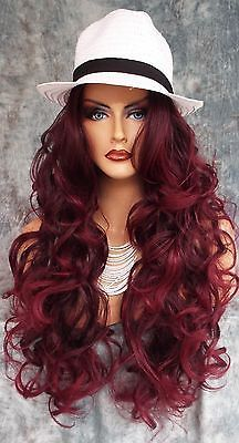 Beautiful Long Hair, Gorgeous Hair, Pretty Hairstyles, Wig Hairstyles, Orange Eye Makeup, Justice Accessories, Copper Hair, Cosplay Wigs, Beauty Supply