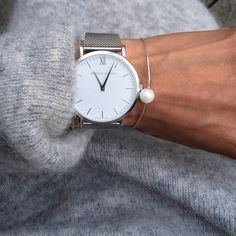 """Favourites.. Cosy knits x Larsson & Jennings #larssonjennings"" #watch #luxury #timepiece #fashionblogger # style #giftidea"